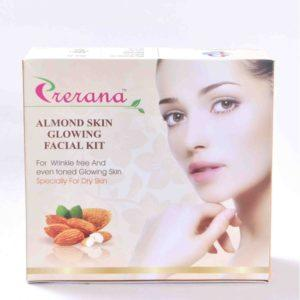 Almond Skin Glowing Facial Kit