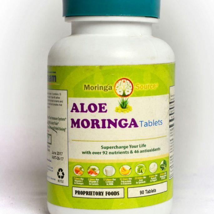 Aloe Moringa Tablets